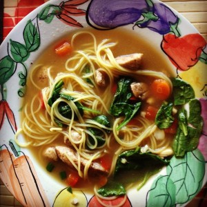 AsianChickenNoodleSoup