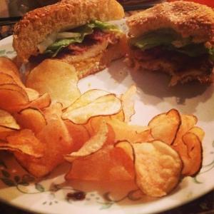 FriedChickenSandwich
